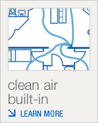 Clean Air Built-in
